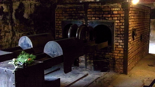 The ovens at Auschwitz