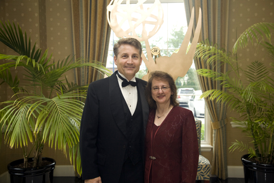 Brad Mattes with his wife Ellen